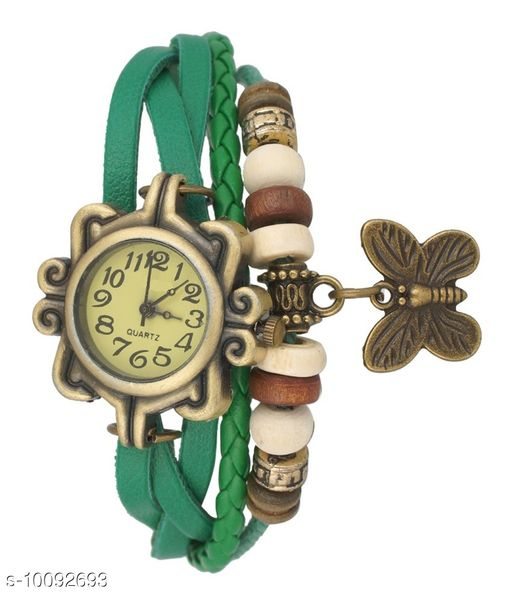 Butterfly Hanging Vintage Casual Watch For Women