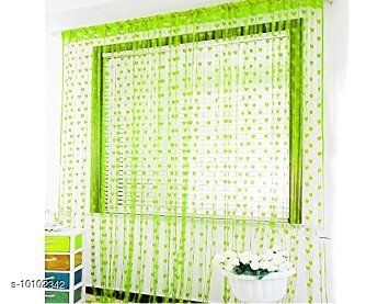 Curtains & Sheers Polyester Heart Door Curtain Set - 6.5 Ft  *Material* Polyester  *Print or Pattern Type* Embroidered  *Length* Door  *Multipack* 4  *Sizes*   *6.5 Feet (Length Size* 6.5 ft, Width Size  *Sizes Available* Free Size *    Catalog Name:  Curtains & Sheers CatalogID_1810544 C54-SC1116 Code: 934-10102342-