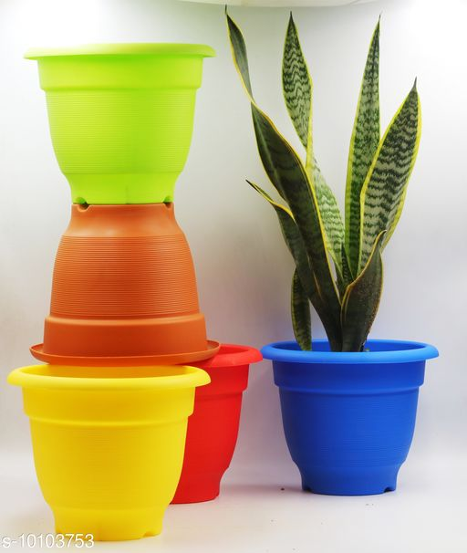 Pots & planters Unique Pots & Planters  *Material* Plastic  *Pack* Multipack  *Sizes Available* Free Size *    Catalog Name: Fancy Pots & Planters CatalogID_1810907 C133-SC1607 Code: 809-10103753-