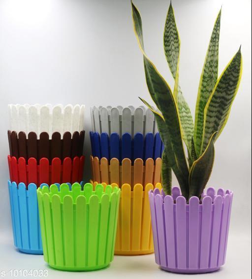 Pots & planters Unique Pots & Planters  *Material* Plastic  *Pack* Multipack  *Sizes Available* Free Size *    Catalog Name: Classic Pots & Planters CatalogID_1810969 C133-SC1607 Code: 8051-10104033-