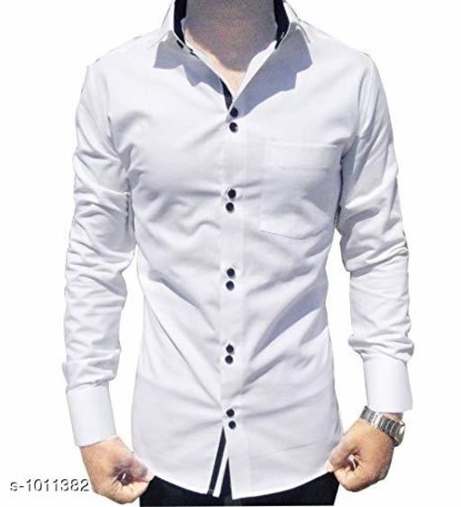 Shirts Fashionable Cotton Solid Shirt  *Fabric* Cotton  *Sleeves* Full Sleeves Are Included  *Size* S, M, L, XL, XXL (Refer Size Chart)  *Length* Refer Size Chart  *Fit* Slim Fit  *Type* Stitched  *Description* It Has 1 Piece of Men's Shirt  *Pattern* Solid  *Sizes Available* XXS, XS, S, M, L, XL, XXL, XXXL, 4XL, 5XL, 6XL, 7XL, 8XL, 9XL, 10XL, Free Size *    Catalog Name: Classico Mens Stylish Cotton Solid Shirts Vol 1 CatalogID_121677 C70-SC1206 Code: 494-1011382-