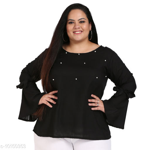 FAZZN Trendy Sensational Plus Size Women Tops & Tunics Vol-7