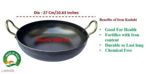 Pure Iron Kadahi 27 cm