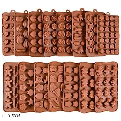 Baking Mould  Baking Mould  *Pack* Pack of 2  *Sizes*  Free Size  *Sizes Available* Free Size *    Catalog Name: Classy Candy & Chocolate Moulds CatalogID_1831530 C137-SC1600 Code: 123-10158041-