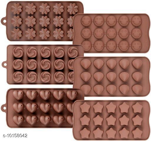 Baking Mould  Baking Mould  *Pack* Pack of 2  *Sizes*  Free Size  *Sizes Available* Free Size *    Catalog Name: Classy Candy & Chocolate Moulds CatalogID_1831530 C137-SC1600 Code: 123-10158042-