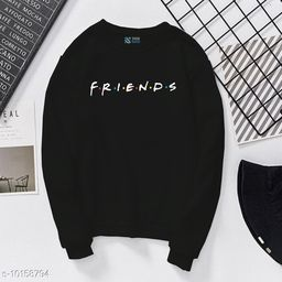 Friends Printed Casual T-Shirt| Full Sleeves Printed T-shirt for Women's and Girls