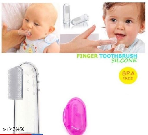Tiny Tycoonz Silicone Baby Tongue Cleaner Toothbrush ( 6 months to 2 years )