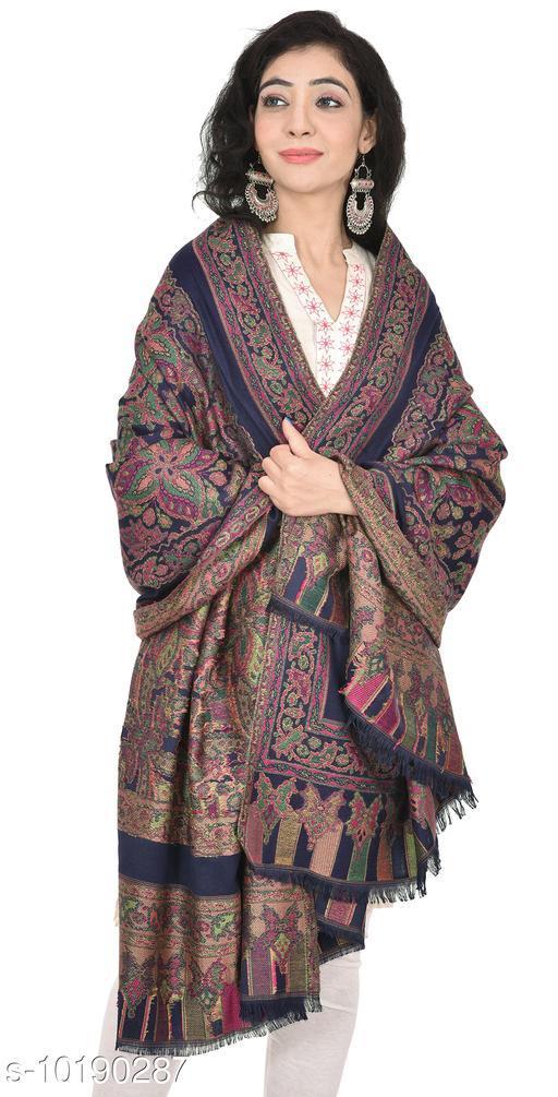 Women's Kashmiri Woolen Shawl, Warm and soft, Faux Pashmina Shawl