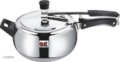 Branded Rice Cookers  3 L Pressure Cooker  (Aluminium) Material: Aluminium Pack: Pack of 1 Length: 18 cm Breadth: 20 cm Height: 18 cm Size (in ltrs): 3 L Country of Origin: India Sizes Available: Free Size   Catalog Rating: ★4.2 (28)  Catalog Name: Graceful Pressure Cooker CatalogID_1844237 C104-SC1556 Code: 809-10195767-