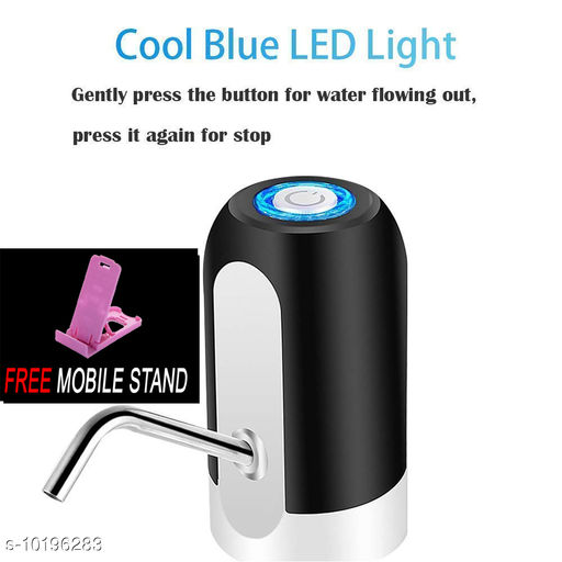FREE 1 PCS  MOBILE STAND WITH Automatic Wireless Can Water Dispenser Pump ( 1 PCS )