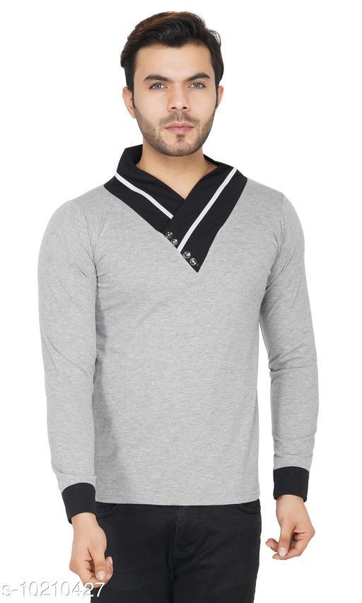 Tshirts Tshirts  *Fabric* Cotton  *Sizes*  L  *Sizes Available* L *    Catalog Name: Urbane Fashionable Men Tshirts CatalogID_1847787 C70-SC1205 Code: 254-10210427-