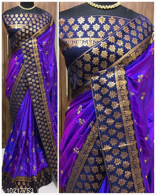 Two Tone Sana Silk by Vipra Designer