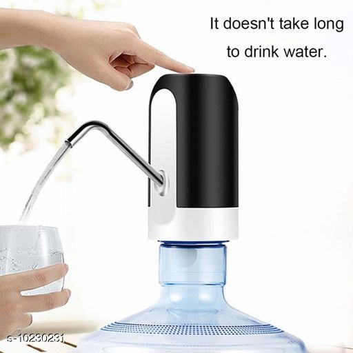 Water Purifier Trendy New Kitchen Water Dispenser  Material: Plastic Pattern : Solid Pack: Pack of 1 Size: Free Size Country of Origin: India Sizes Available: Free Size   Catalog Rating: ★4.3 (4)  Catalog Name: Trendy New Kitchen Water Dispenser CatalogID_1852715 C103-SC1480 Code: 384-10230231-