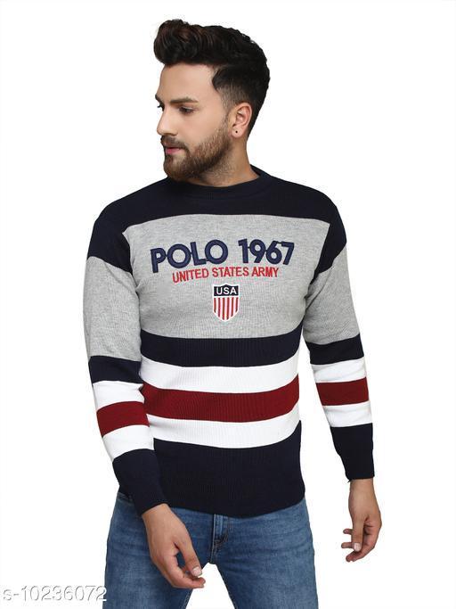 Kvetoo Navy Round Neck Sweater Single