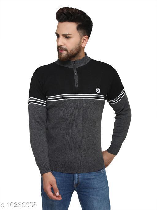 Kvetoo Grey Round Neck Sweater Single