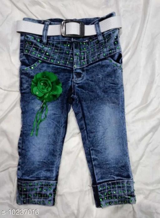 Shorts & Capris Ryma Trendz  *Fabric* Denim  *Pattern* Solid  *Multipack* 1  *Sizes*  4-5 Years  *Sizes Available* 4-5 Years *    Catalog Name: Pretty Stylus Girls Trousers, Shorts & Capris CatalogID_1854398 C62-SC1146 Code: 504-10237016-