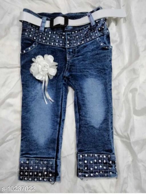 Shorts & Capris Ryma Trendz  *Fabric* Denim  *Pattern* Solid  *Multipack* 1  *Sizes*  4-5 Years  *Sizes Available* 4-5 Years *    Catalog Name: Pretty Stylus Girls Trousers, Shorts & Capris CatalogID_1854398 C62-SC1146 Code: 504-10237022-