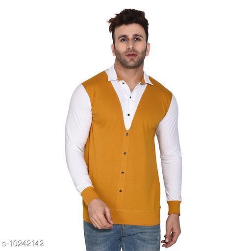 Blisstone Long Sleeves Spread Collar Shirt Yellow