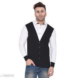 Blisstone Long Sleeves Spread Collar Shirt Black