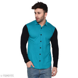 Blisstone Long Sleeves Spread Collar Shirt Teal