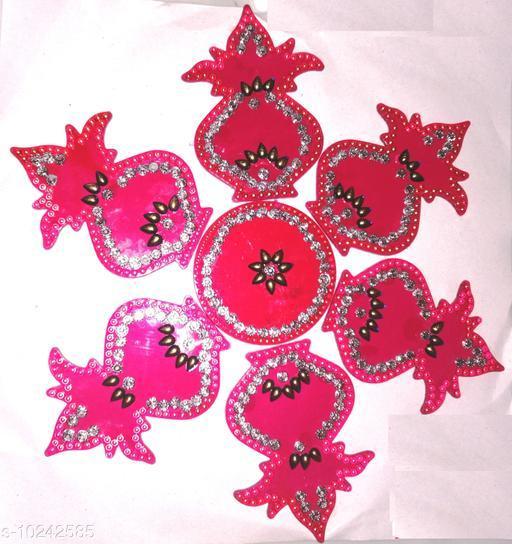 Rangoli & Festive Stickers MEDIUM RANGOLI   *Material* Plastic  *Pack* Pack of 1  *Sizes Available* Free Size *    Catalog Name: Modern Rangoli Stickers CatalogID_1855683 C128-SC1317 Code: 981-10242585-