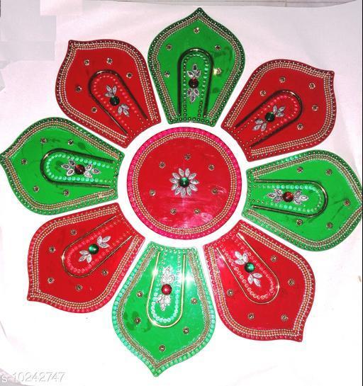 Rangoli & Festive Stickers COLOUR BIG RANGOLI   *Material* Plastic  *Pack* Pack of 1  *Sizes Available* Free Size *    Catalog Name: Classy Rangoli Stickers CatalogID_1855710 C128-SC1317 Code: 903-10242747-