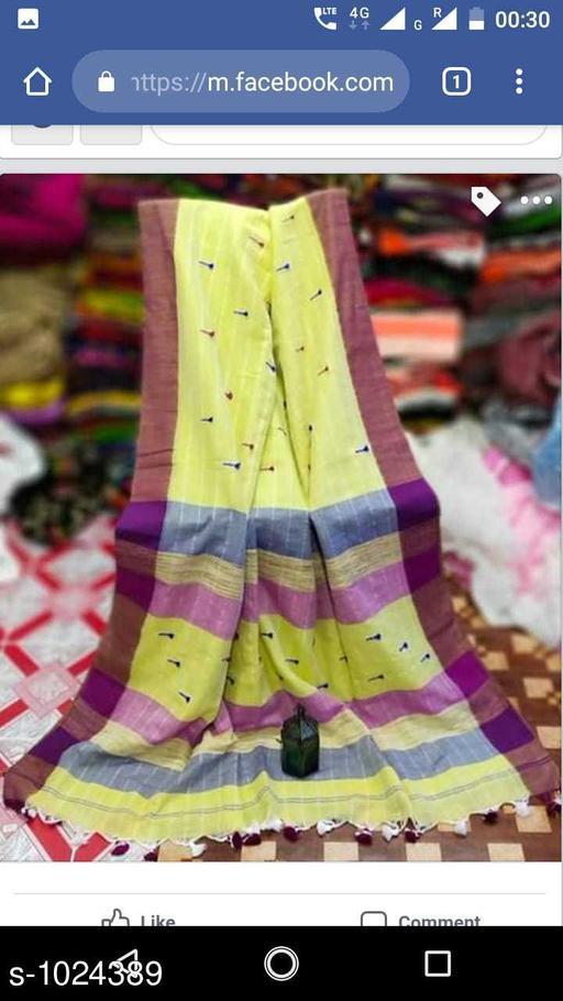 Sarees Pretty Kadi  Cotton  Saree  *Fabric* Saree - Kadi Cotton , Blouse - Kadi  Cotton  *Size* Saree Length-  5.5 mtr,  Blouse  Length -  0.8 mt  *Work* Weaving  *Sizes Available* Free Size *   Catalog Rating: ★3.9 (181)  Catalog Name: Embellished Khadi Khadi Cotton Sarees CatalogID_123713 C74-SC1004 Code: 635-1024389-