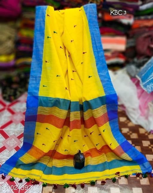 Sarees Pretty Kadi  Cotton  Saree  *Fabric* Saree - Kadi Cotton , Blouse - Kadi  Cotton  *Size* Saree Length-  5.5 mtr,  Blouse  Length -  0.8 mt  *Work* Weaving  *Sizes Available* Free Size *   Catalog Rating: ★3.9 (182)  Catalog Name: Embellished Khadi Khadi Cotton Sarees CatalogID_123713 C74-SC1004 Code: 635-1024392-