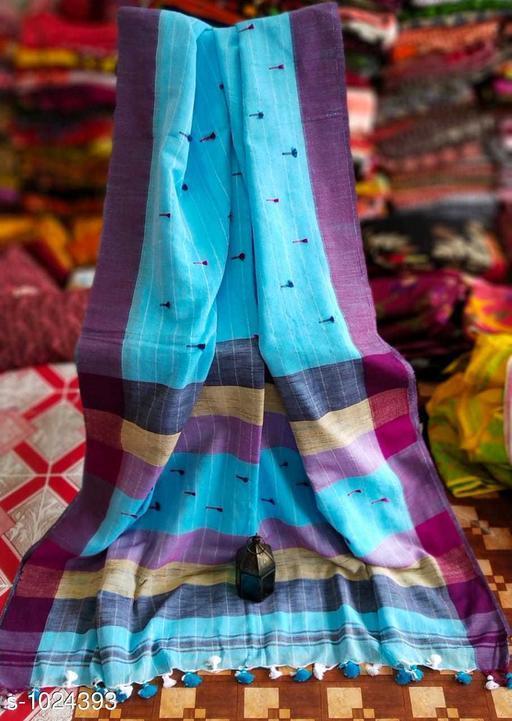 Sarees Pretty Kadi  Cotton  Saree  *Fabric* Saree - Kadi Cotton , Blouse - Kadi  Cotton  *Size* Saree Length-  5.5 mtr,  Blouse  Length -  0.8 mt  *Work* Weaving  *Sizes Available* Free Size *   Catalog Rating: ★3.9 (182)  Catalog Name: Embellished Khadi Khadi Cotton Sarees CatalogID_123713 C74-SC1004 Code: 635-1024393-