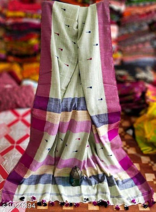Sarees Pretty Kadi  Cotton  Saree  *Fabric* Saree - Kadi Cotton , Blouse - Kadi  Cotton  *Size* Saree Length-  5.5 mtr,  Blouse  Length -  0.8 mt  *Work* Weaving  *Sizes Available* Free Size *   Catalog Rating: ★3.9 (182)  Catalog Name: Embellished Khadi Khadi Cotton Sarees CatalogID_123713 C74-SC1004 Code: 635-1024394-