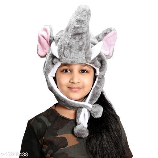 Caps kids elephant winter cap kids elephant winter cap  *Sizes Available* Free Size *    Catalog Name: Check out this trending catalog CatalogID_1857142 C63-SC1195 Code: 623-10249438-