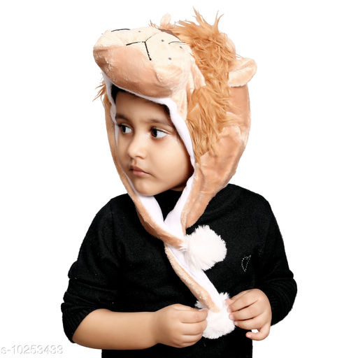 Caps kids lion winter cap kids lion winter cap  *Sizes Available* Free Size *    Catalog Name: Check out this trending catalog CatalogID_1858034 C63-SC1195 Code: 623-10253433-