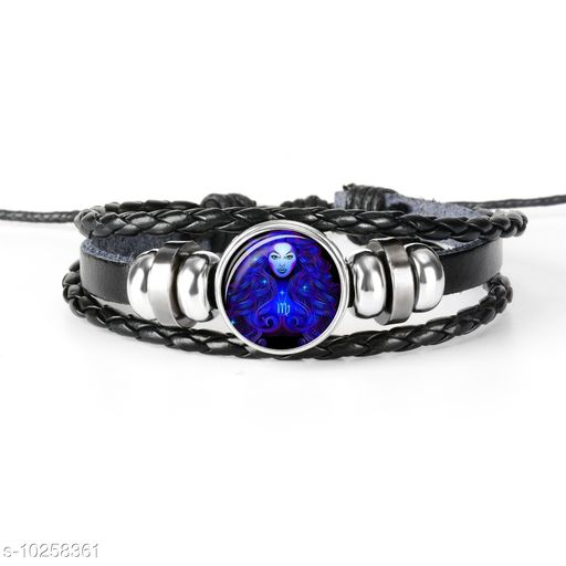 Chocozone Virgo Zodiac Mens Bracelet & Bracelet For Boys