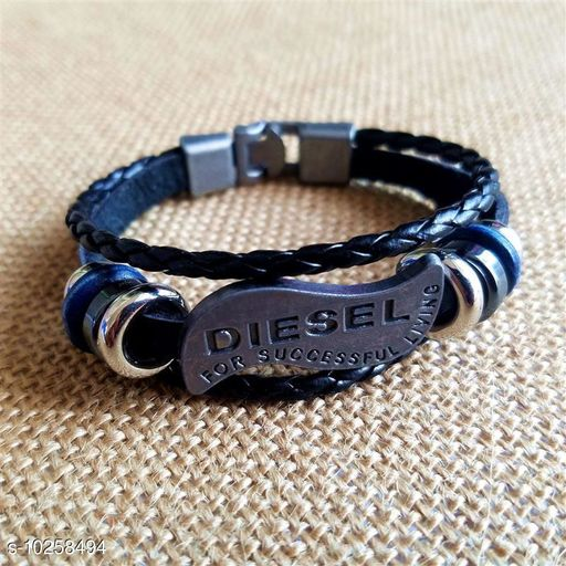 Chocozone Leather Bracelet Diesl Boys Bracelets & Mens Bracelet