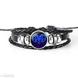 Chocozone Aries Zodiac Mens Bracelet Charm Bracelet for Boys