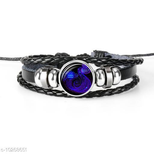 Chocozone Aquarius Zodiac Boys Bracelet & Men Bracelet