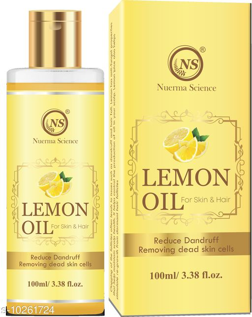 Herbal Products Lemon Oil  *Product Name* Lemon Oil  *Sizes Available* Free Size *    Catalog Name:  Sensational Replenshing Herbal Oil CatalogID_1860000 C50-SC1297 Code: 074-10261724-