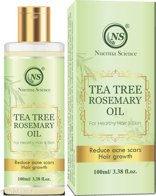 Herbal Products Tea Tree & Rosemary Oil, 100 ML,Pack of 1  *Product Name* Tea Tree & Rosemary Oil, 100 ML,Pack of 1  *Sizes Available* Free Size *    Catalog Name:  Advanced Intensive Herbal Oil CatalogID_1860006 C50-SC1297 Code: 074-10261754-