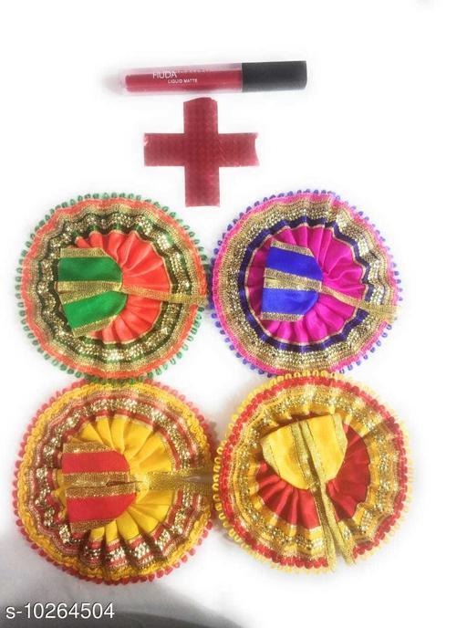 Pooja Needs Designer Pooja Samagri  *Pack* Multipack  *Sizes Available* Free Size *    Catalog Name: Designer Pooja Samagri CatalogID_1860710 C128-SC1315 Code: 572-10264504-