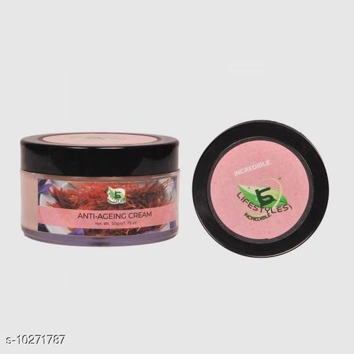 Herbal Products Anti Ageing Cream  *Product Name* Anti Ageing Cream  *Brand* Lifestyle  *Product Type* Face Cream  *Capacity* 50 g  *Multipack* Pack of 1  *Sizes Available* Free Size *    Catalog Name: Papaya Herbal gel Scrub CatalogID_1862677 C52-SC1311 Code: 047-10271787-