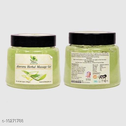 Herbal Products Aloe Vera Gel  *Product Name* Aloe Vera Gel  *Brand* Lifestyle  *Product Type* Massage Gel  *Capacity* 250 g  *Multipack* Pack of 1  *Sizes Available* Free Size *    Catalog Name: Papaya Herbal gel Scrub CatalogID_1862677 C52-SC1311 Code: 044-10271788-
