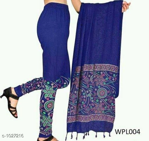 Leggings *Myhra Stylish Cotton Printed Leggings Dupata  Vol 1*   *Fabric* Legging - Cotton, Dupatta - Cotton  * Size* Legging -  XL - Up To 28 in to 32 in, XXL -34 in to 38 in, Dupatta - 2.15 mtr  *Length* Up to 40 in  *Type* Stitched  *Description* It Has 1 Piece Of Women's legging With Dupatta    *Work* Printed  *Sizes Available* Free Size, M, L, XL, XXL *    Catalog Name: Myhra Stylish Cotton Printed Leggings Dupata Vol 1 CatalogID_124116 C79-SC1035 Code: 563-1027216-
