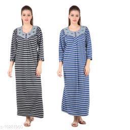 Stylish Women's Night Gown