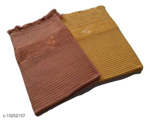 Bath & Beach Towels Honey Comb Towels  *Material* Cotton  *Multipack* 2  *Sizes*  Free Size  * Price* .499  *Sizes Available* Free Size *    Catalog Name: Voguish Classy Bath Towels CatalogID_1865250 C71-SC1110 Code: 575-10282197-