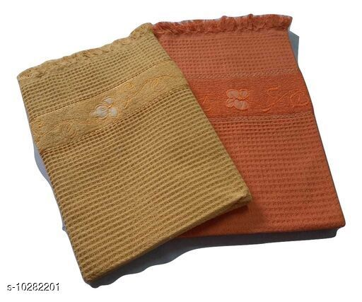 Bath & Beach Towels Honey Comb Towels  *Material* Cotton  *Multipack* 2  *Sizes*  Free Size  * Price* .499  *Sizes Available* Free Size *    Catalog Name: Voguish Classy Bath Towels CatalogID_1865250 C71-SC1110 Code: 575-10282201-