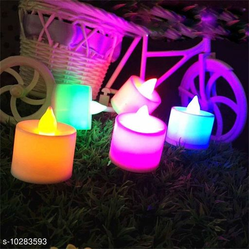 Lights Color Tea Lights(Pack Of 5)  *Pack* Multipack  *Sizes Available* Free Size *    Catalog Name: Latest Wall Lights CatalogID_1865616 C127-SC1620 Code: 364-10283593-