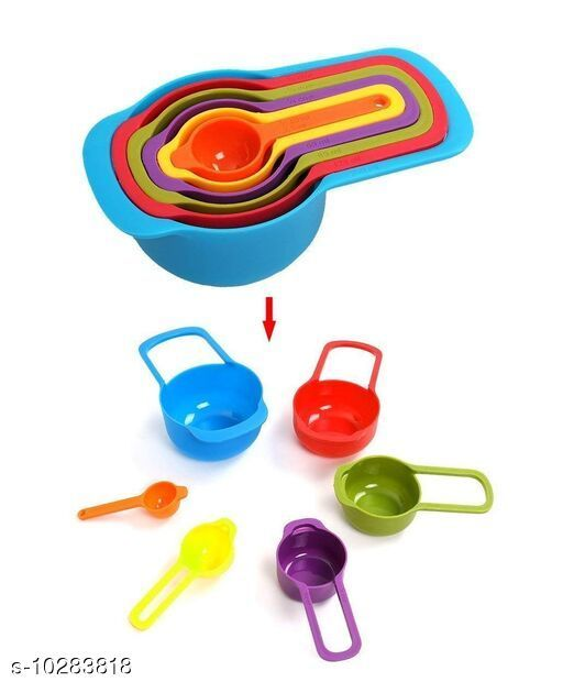 Measuring Cups Measuring  Cups  *Material* Plastic Good Quality  *Sizes Available* Free Size *    Catalog Name: Unique Measuring Cups CatalogID_1865647 C135-SC1658 Code: 142-10283818-