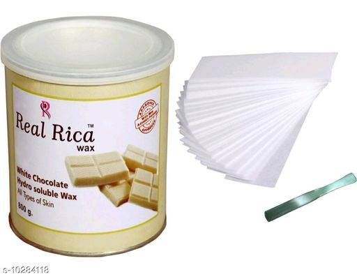 Styling Real Rica  hair wax( 800 g ) with 80 wax strip & knife  *Product Name* Real Rica  hair wax( 800 g ) with 80 wax strip & knife  *Type* Paste  *Multipack* 3  *Sizes Available* Free Size *    Catalog Name:  Advanced Ultra Strong Gels & Waxes CatalogID_1865738 C50-SC1300 Code: 024-10284118-