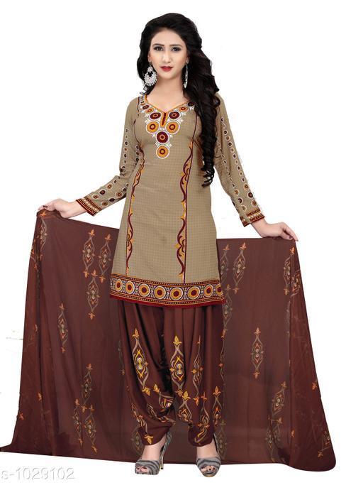 Ravishing Cotton Printed Salwar Suits & Dress Material