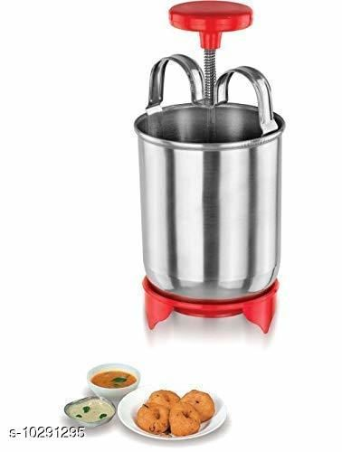 Made in India Stainless Steel Medu Vada Maker-Donuts Maker (1p)